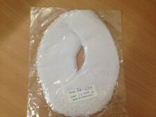 12 pairs white embroidered cotton collars sewing/craft  @ $3 a pair