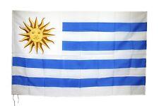 BANDIERA URUGUAY CM 90X150 SELECCION DE FUTBOL CELESTE URUGUAYAN FLAG BANDEIRA