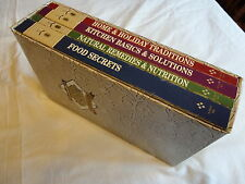 Grandmother's Kitchen Wisdom Library 4 Book Set  by Dr. Myles H. Bader