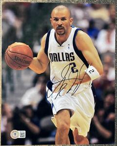 Jason Kidd Dallas Mavericks Signed 8x10 Photo - JSA COA NBA Basketball Auto