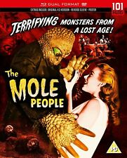 THE MOLE PEOPLE di Virgil Vogel BLURAY+DVD in Inglese NEW .cp