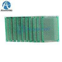 10PCS Double Side Prototype PCB Tinned Universal Breadboard 4x6 cm 40mmx60mm FR4