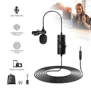BOYA BY-M1 Rundstrahl Lavalier Mikrofon für Kamera Smartphone Audio Recorder PC
