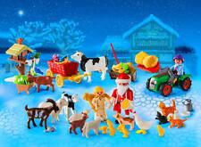 Playmobil ADVENT CALENDAR Christmas On The Farm Playset Original Kids Gift