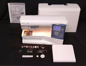 Husqvarna Viking Sapphire 875 Quilt computerized sewing & quilting machine