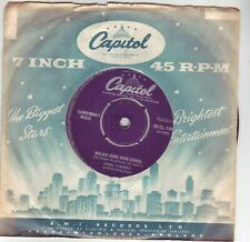 GENE VINCENT AND HIS BLUE CAPS WALKIN HOME FROM SCHOOL 1957 VERY RARE 45