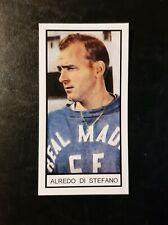SPAIN - REAL MADRID - ALFREDO DI STEFANO - Memory Lane UK football trade card