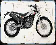 Beta Alp 200 4T 08 A4 Photo Print Motorbike Vintage Aged