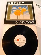 ARTERY - OCEANS LP + INSERT!!! UK 1ST PRESS RED FLAME RFM 4 JOY DIVISION