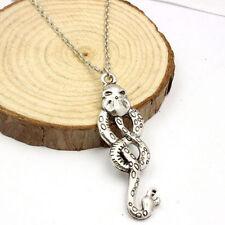 Harry Potter Horkrux Schlange Anhänger Silber Halskette Schmuck SUN