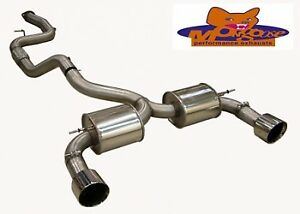 Mongoose Section 59 Catback Exhaust System - Ford Focus ST225