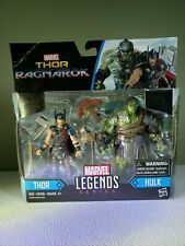 "Marvel Thor ""Ragnarok"" Marvel Legends Series, Thor and Hulk action  figures"