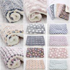 Dog Cat Puppy Pet Plush Blanket Mat Warm Sleeping Blankets Pet Mbyss Plsei gxi_