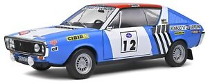 RENAULT R17 Gordini Rally Press On Regardless J L Therier 1:18th SOLIDO 1803703