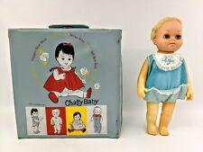 Pair Vintage Mattel Tiny Chatty Slipper Socks Old Stock