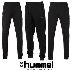 Hummel Men's Sports Trouser Pant TTS Pant Cuff  Sports all Sizes BLACK