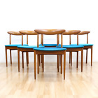 MID CENTURY DINING CHAIRS BY GREAVES & THOMAS OF LONDON