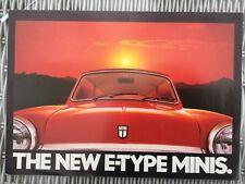 MINI, THE NEW E-TYPE MINIS BROCHURE.in VGC
