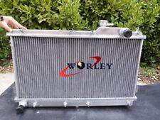 Aluminum radiator for Mazda Miata MX5 1.6L 1.8L 1990-1997 Manual MT