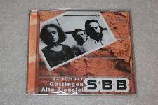 SBB - 22.10.1977 Gottingen Alte Ziegelei CD NEW SEALED POLISH