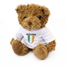 NUOVO-Irlanda Flag TEDDY BEAR-Carini e coccolosi-Fan Regalo Di Compleanno Natale