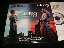 "SLEEPLESS IN SEATTLW °TOM HANKS °<>12"" Laserdisc<>COLUMBIA HOME VIDEO 52416"