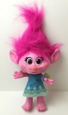 "VERY RARE VINTAGE 90/'S PINK 10/"" TROLL PLUSH SOFT BODY 25cm I LOVE YOU NEW NOS !"