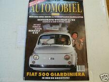 HA-1995-03 FIAT 500 GIARDINIERA,RENAULT 4 CV,MB 300 SEL 3,5,WOLSELEY 6/80,GHIA