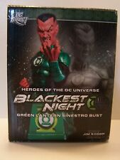 DC Direct Blackest Night Heroes Of The DC Universe Green Lantern Sinestro Bust