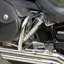 HONDA VTX1800 CUSTOM (2002-09) HEAVY DUTY REAR SADDLEBAG GUARD CRASH BARS