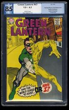 Green Lantern #63 PGX VF+ 8.5 White