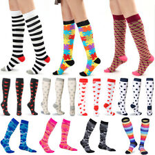 Unisex Compression Long Socks Sports Medical Calf Support Varicose Vein Stocking