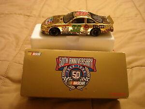 NASCAR, IRVAN, 50th GOLD ANNIVERSARY ERNIE IRVAN M&Ms 1:32 Diecast FREE SHIP