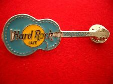 HRC hard rock cafe Reikiavik acoustic guitar Light Blue made by thorcraft