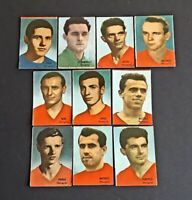 WORLD CUP 66 stickers - COUPE DU MONDE 1966 vignettes - HUNGARY