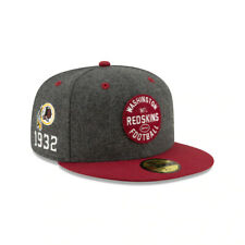 Washington Redskins NFL On-Field New Era 59FIFTY '32 Established Fitted Hat-Gray
