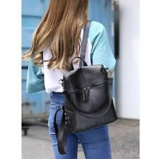 Mujer chica Mochila viaje cuero bolso mochila bandolera escuela Colegio popular