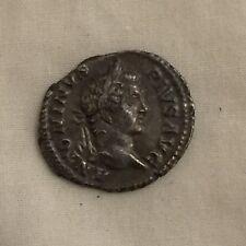 Roman silver denarius metal detecting find