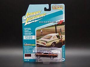 2021 JOHNNY WHITE LIGHTNING 1976 DODGE ASPEN RT CLASSIC GOLD RELEASE 2A CHASE