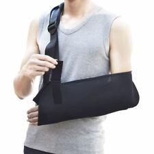 Universal Arm Sling Shoulder Immobilizer Bracing High Pouch Support Strap Black