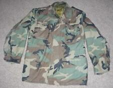 Military BDU Medium Long Field Jacket Coat Camo Camouflage Men Boys #42