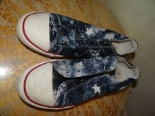 CONVERSE ONE STAR BLEACH BLUE SNEAKERS  SHOES WOMEN SIZE 6 SUPER