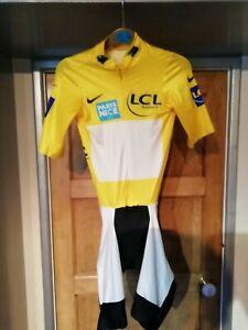LCL Paris Nice 2011 (Radio Shack) Short sleeved Speedsuit (Armstrong)Nike M