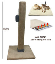 Extra Large Tall Cat Scratch Post Activity Play Centre Pole Heavy Duty