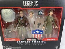 Marvel Legends Captain America and Peggy Carter Box Set The First Avenger