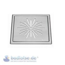 SMEDBO OUTLINE matt Boden-Ablaufsieb Dusche bodeneben Ablauf Edelstahl FS500