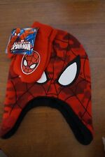 NEW Spiderman Toddler 2 Piece Cold Weather Set Knit Hat and Mittens