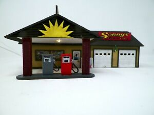 S Scale Gas Station