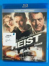 HEIST Blu-ray disc  & case RENTAL   (BILINGUAL)