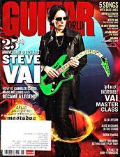 Guitar World Magazine May 2009 Steve Vai, Mastadon, Alex Lifeson, Derek Trucks